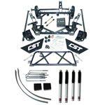 01 10 2500HD 2WD 4WD 9in Lift Kit w Four CST Street Series Shocks 1