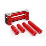 Roller Fairlead Rope Rollers For Synthetic Winch Rope Red 1