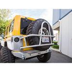Jeep Rear Tire Carrier Swing Out 07Pres Wrangler JK JKU Aluminum Bare Kit 1