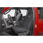 F150 Neoprene Front and Rear Seat Cover Black 1520 F150 XL XLT 1