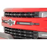 Chevy Dual 10 Inch LED Grille Kit Black Series 1920 Silverado 1500 3