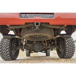 Dual CatBack Exhaust System wBlack Tips 1418 SilveradoSierra 1500 53L 3