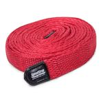 1 Inch SuperStrap Weavable Recovery Strap 30 Foot Red Nylon 1