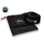 Tow Strap 40000 lb 4 x 8 Gray With Black Ends and Storage Bag 1