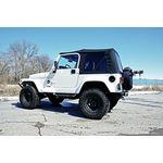 Jeep Replacement Soft Top Black 9706 TJ Wrangler Full Steel Doors 1