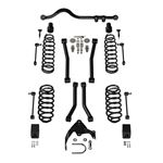 2 Door 3 Inch Lift Suspension System w/ 4 Sport Flexarms and Track Bar No Shocks 07-18 Wrangler JK-1