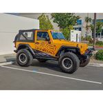 Jeep JK Bolt On Armor Style Fenders Front and Rear 2 4 Door 3