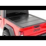 Dodge Low Profile Hard TriFold Tonneau Cover 1920 RAM 1500 QuadMega Cab 55ft Bed WO RAMbox 3