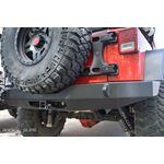 Jeep JK Full Rear Bumper For 0718 Wrangler JK No Tire Carrier Rigid Series 3