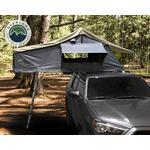 Nomadic 2 Extended Roof Top Tent  Dark Gray Base With Green Rain Fly and Black Cover 1