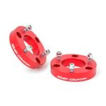2 Inch Leveling Kit Red 17-20 Titan Rough Country 1