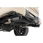 Dual Cat-Back Exhaust System w/Black Tips 09-20 Toyota Tundra V8-4.6L