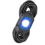 9 Watt Led Rock Light Single Pod Blue 1