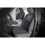 Dodge Neoprene Front and Rear Seat Covers 0918 RAM 1500 1