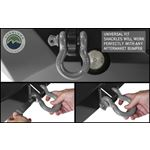Recovery Shackle 34 475 Ton  Gray 3