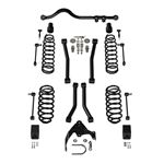 4 Door 3 Inch Lift Suspension System w/ 4 Sport Flexarms and Track Bar No Shocks-1