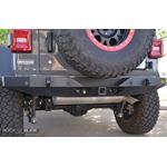 Jeep JL Full Rear Bumper For 18Pres Wrangler JL No Tire Carrier Rigid Series 1