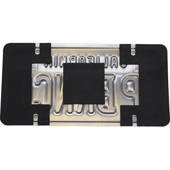 License Plate Shield Kit Anti Rattle Anti Scratch 1