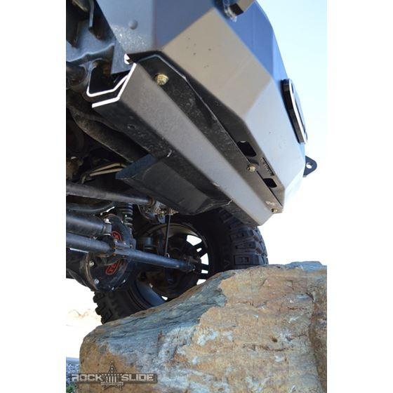 Jeep JL Front Bumper Skid Plate For 18Pres Wranger JL Rigid Series Steel Powdercoat Black 1