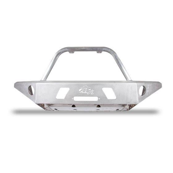 0515 Toyota Tacoma APEX Aluminum Front Bumper with Center Hoop Black Powdercoat 1