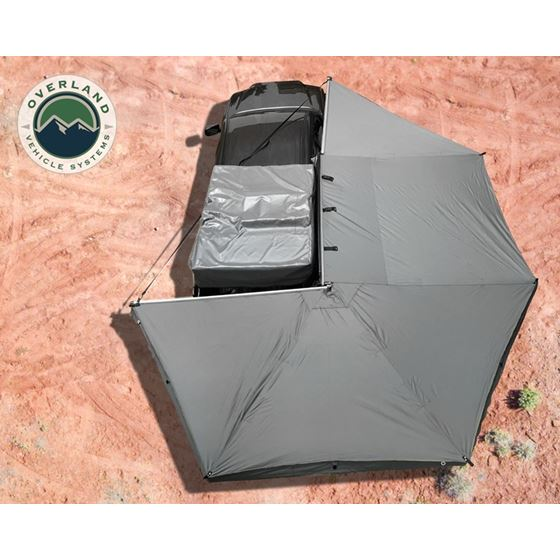 Nomadic Awning 270 Awning and Wall 1 2 and 3 Mounting Brackets  Passenger Side 1