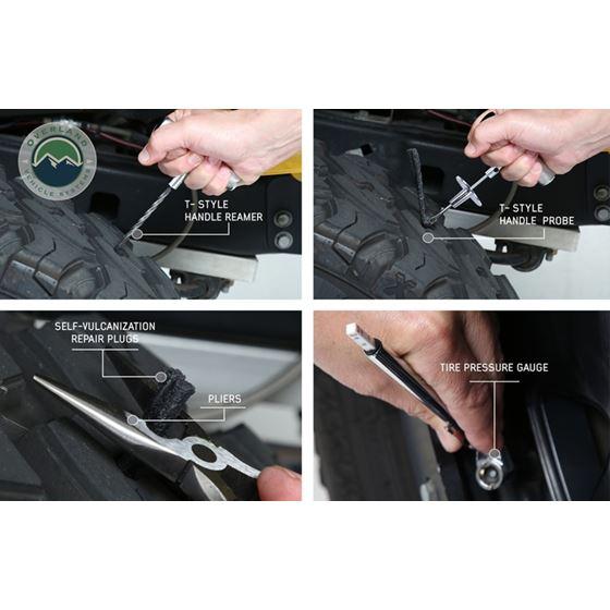 Tire Repair Kit  53 Piece Kit With Black Storage Box 3