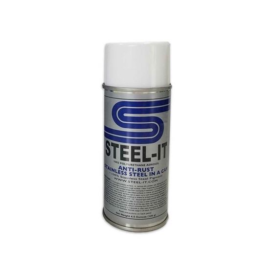 STAINLESS STEEL POLYURETHANE COATING 4 5OZ CAN 1