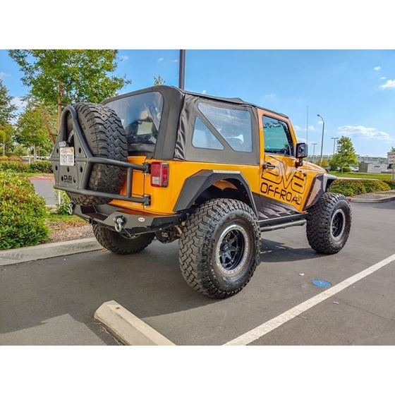 Jeep JK Bolt On Armor Style Fenders Front and Rear 2 4 Door 1