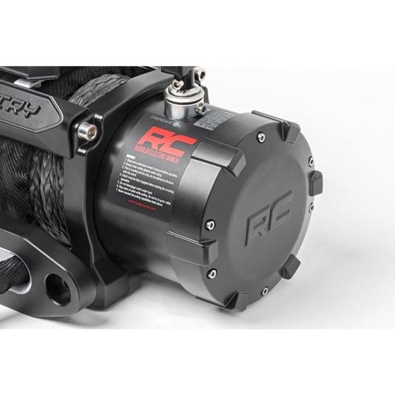 9500 LB Electric Winch Synthetic Rope Pro Series 1