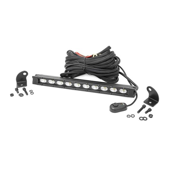 10 Inch Slimline CREE LED Light Bar Black Series 3