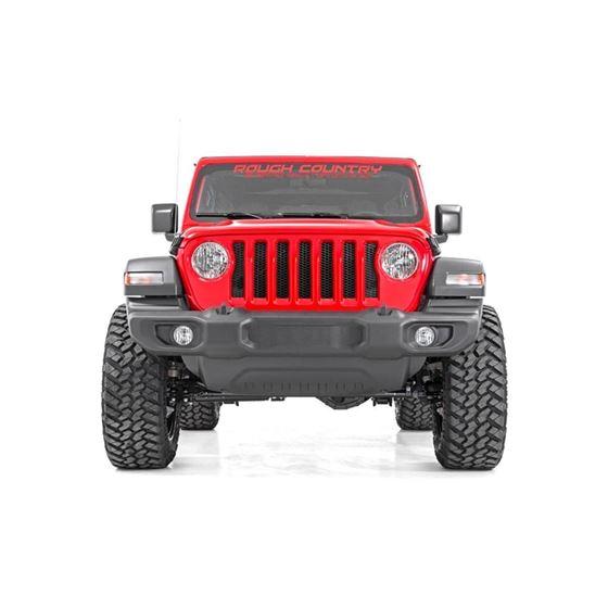 25 Inch Jeep Suspension Lift Kit V2 Shocks and Springs 1820 Wrangler JL 3