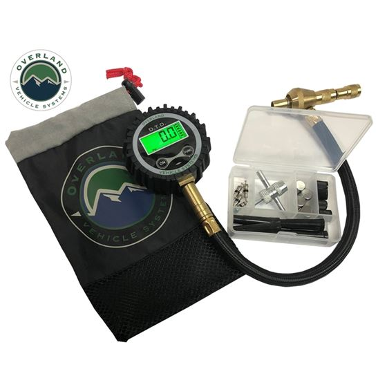 Digital Tire Deflator with Valve Kit and Storage Bag 1