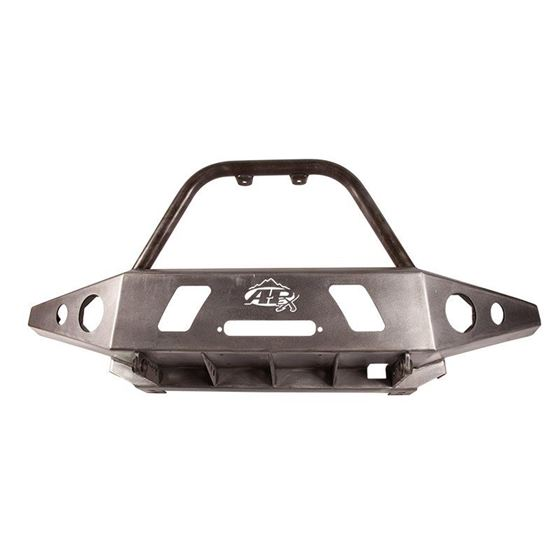 9504 Toyota Tacoma APEX Front Bumper Bare Steel with Center Hoop 1