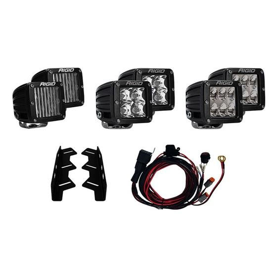 20172018 FORD RAPTOR FOG LIGHT KIT INCLUDES MOUNTS and 6 DSERIES 1