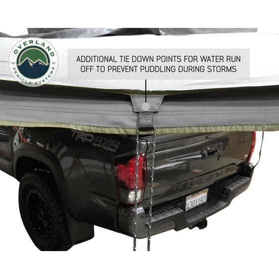 Nomadic Awning 180  Dark Gray Cover With Black Transit Cover and Brackets 3