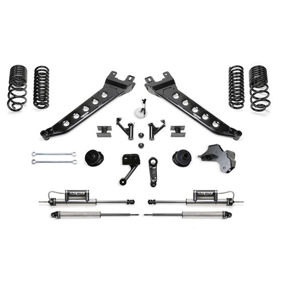 5 RADIUS ARM LIFT KIT WCOIL SPACERS AND FRONT DIRT LOGIC 2 25 RESI SHOCKS AND REAR DIRT LOGIC 2 25 1