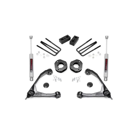35 Inch Suspension Lift Kit 0716 SilveradoSierra 1500 2WD 1