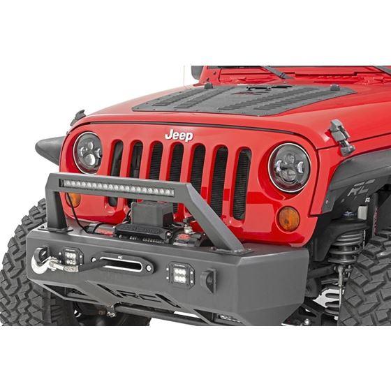 Jeep 7 Inch LED Projection Headlights Wrangler TJ JK 3
