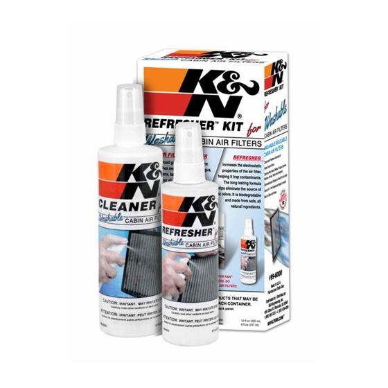 K&N Cabin Filter Cleaning Care Kit 99-6000 1