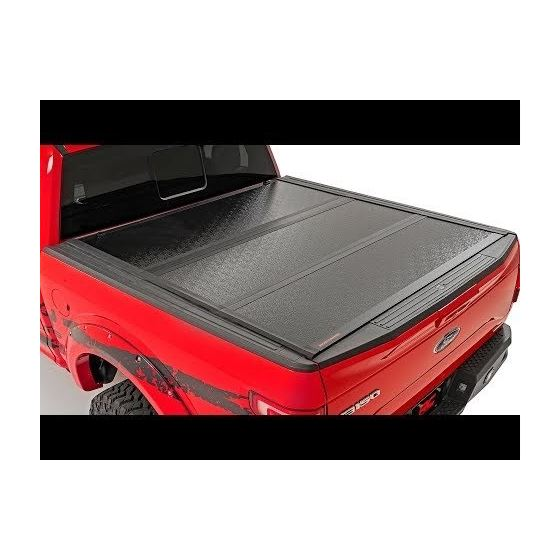 Low Profile Hard TriFold Tonneau Cover 1920 1500 58 Foot Bed 1