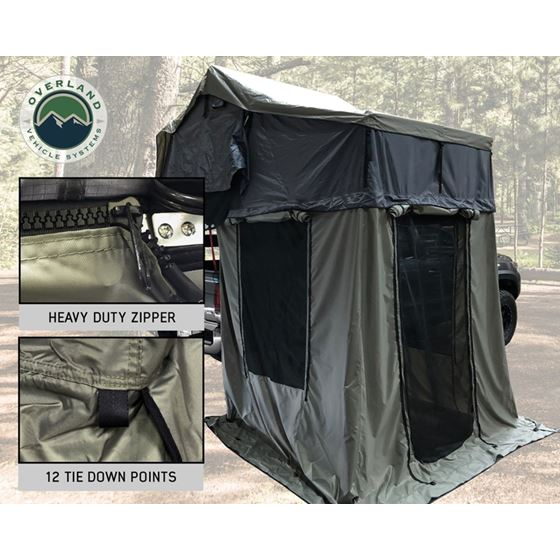 Nomadic 3 Annex  Green Base With Black Floor and Travel Cover 3