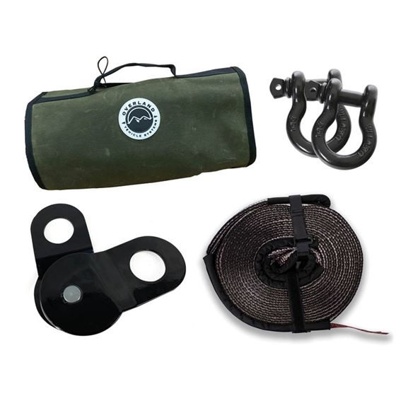 """Recovery Wrap Kit Including 20"""" Tow Strap"""