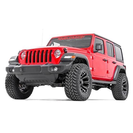 25 Inch Jeep Suspension Lift Kit Springs and Vertex Shocks 1820 Wrangler JL Rubicon 1