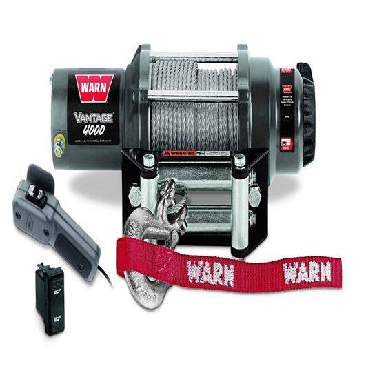 4000 Lb Cap 50 Ft Wire Rope Winch 1