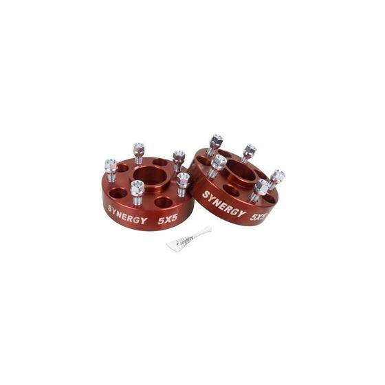 Jeep Hub Centric Wheel Spacers 5X5150 Inch Width 1220 UNF Stud Size 1