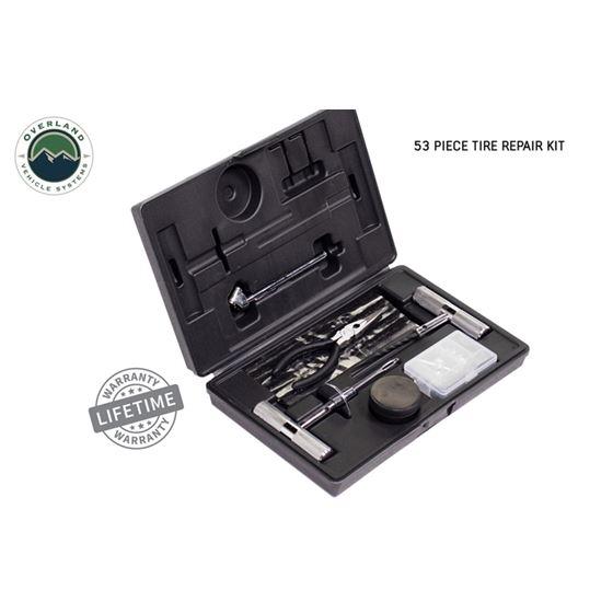 Tire Repair Kit  53 Piece Kit With Black Storage Box 1