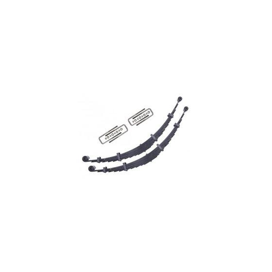 0004 FSD FRONT 4 LEAF SPRING KIT W 37001 UBOLTS 1