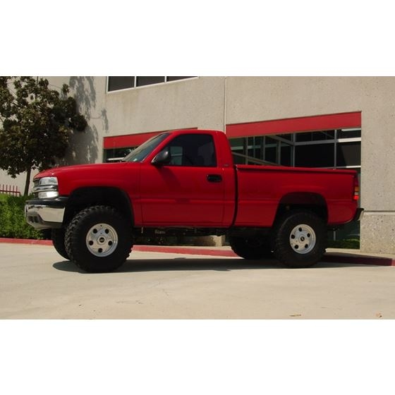 99 06 GM 1500 2WD 4in Lift Spindles 3