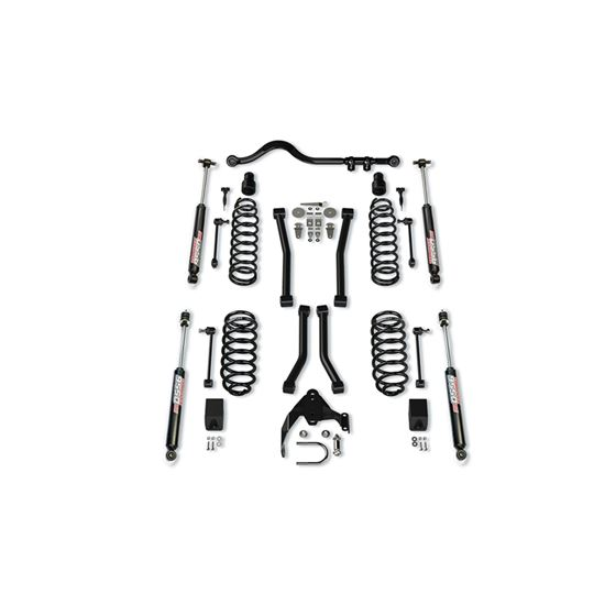 2 Door 3 Inch Lift Suspension System w/ 4 Sport Flexarms Track Bar and 9550 VSS Shocks-1