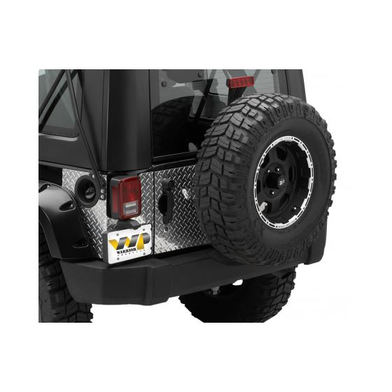Jeep JK/JKU Outer Tailgate Cover Kit 920D-1 1